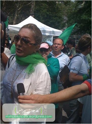 اعتصاب غذای روشنفکران ایرانی در نیویورک